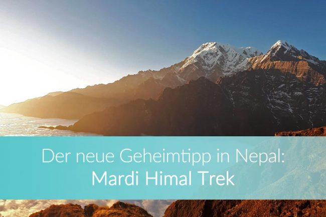 Mardi Himal Trek: Weltreise Blog