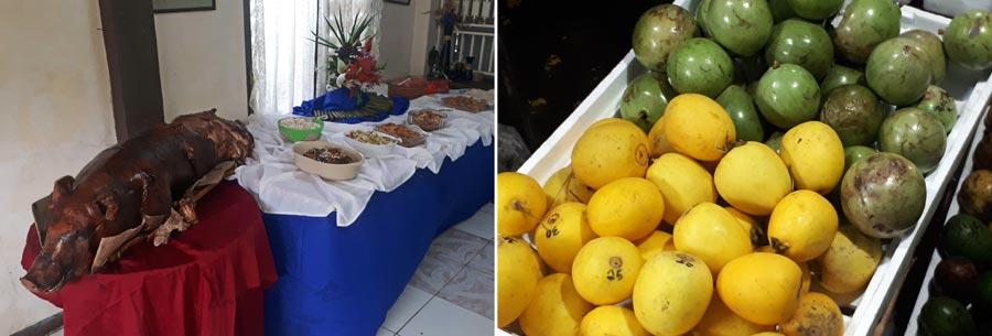 Philippinen Backpacking: Essen, Schwein, tropische Früchte