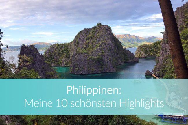 Philippinen Sehenswürdigkeiten: Weltreise Blog