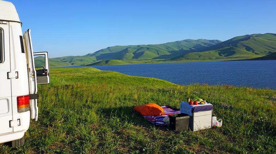 Picknickdecke: Landschaft, Park, Natur