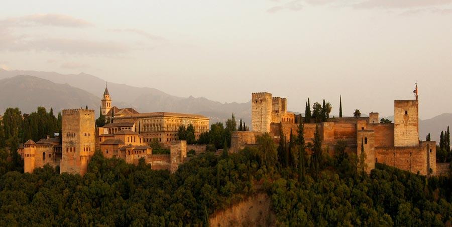 Spanien Sehenswürdigkeiten: Alhambra, Granada