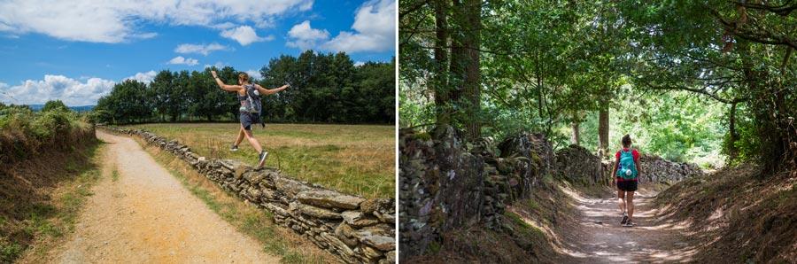 Spanien Sehenswürdigkeiten: Jakobsweg, Camino, Wanderung