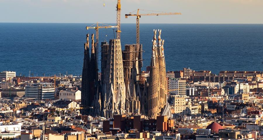 Spanien Sehenswürdigkeiten: Sagrada Familia, Kathedrale
