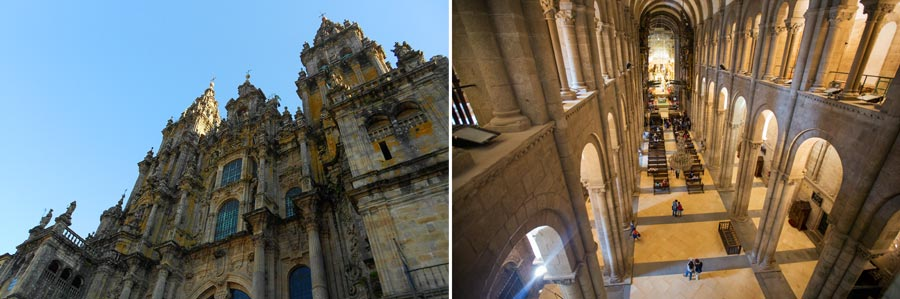 Spanien Sehenswürdigkeiten: Santiago de Compostela, Kathedrale
