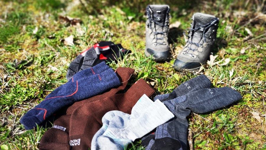Wandersocken: Merino, Socken, Füße