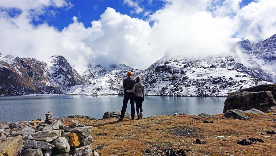 Wandersocken: Tragekomfort, Wanderung