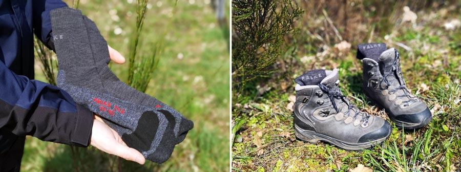 Wandersocken: Trekkingsocken Falke