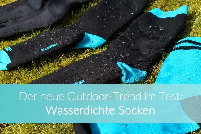 Wasserdichte Socken: Weltreise Blog
