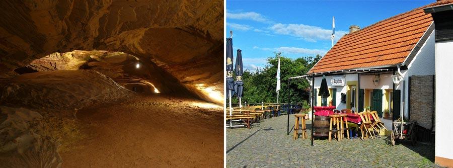 Nachhaltig reisen Saarland: Bliesgau Schlossberghöhle, Kirkeler Burgschenke