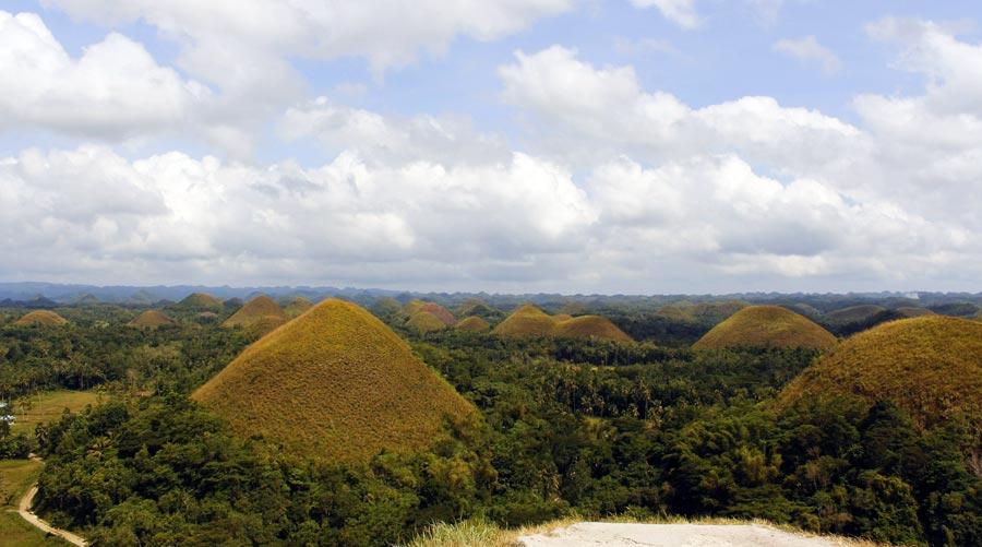Bohol: Chocolate Hills, Schokoladenhügel