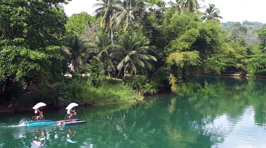 Bohol: Loboc River, Philippinen