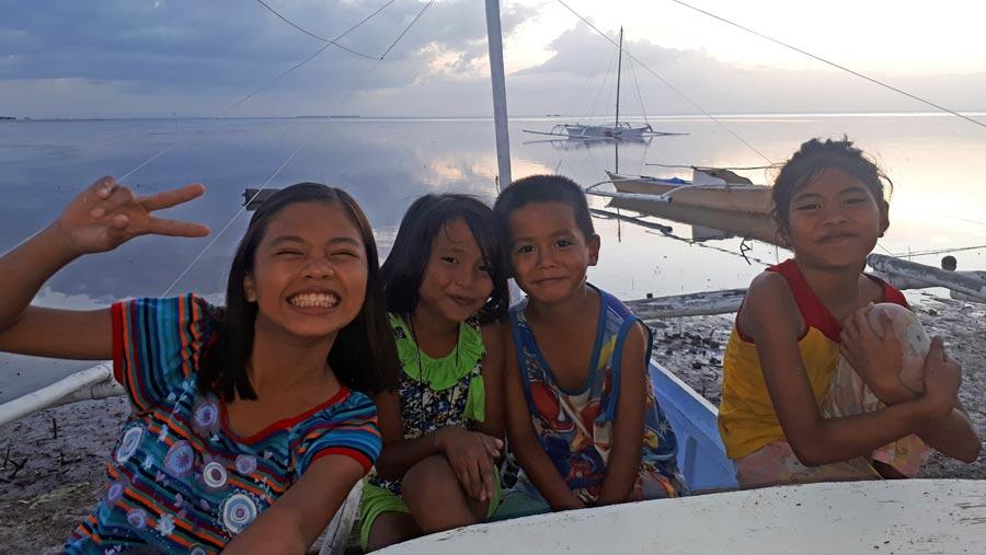 Bohol: Sandstrand, Beach, Kinder