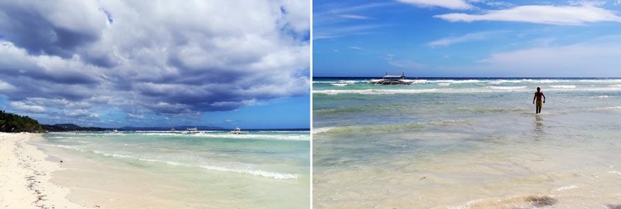 Bohol: White Beach, Sandstrand