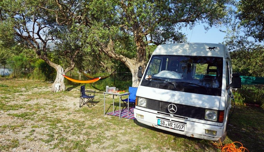 Campingstuhl: Campingurlaub, Campingplatz