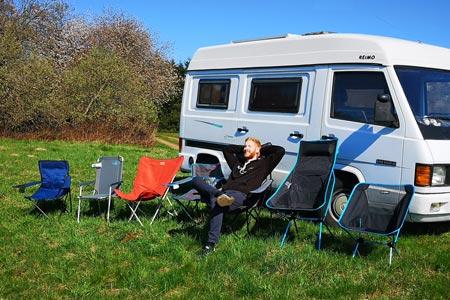 Campingstuhl: Ratgeber, Testbericht