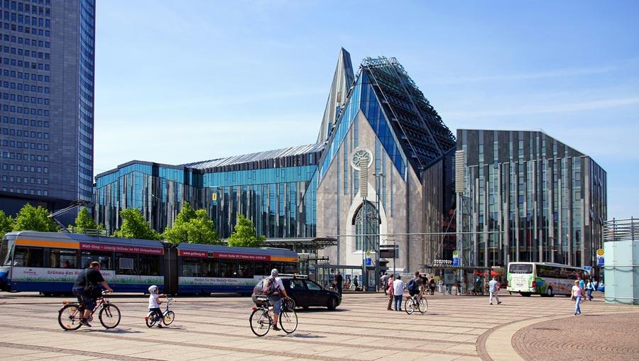 Leipzig Sehenswürdigkeiten: Augustusplatz, Opernhaus