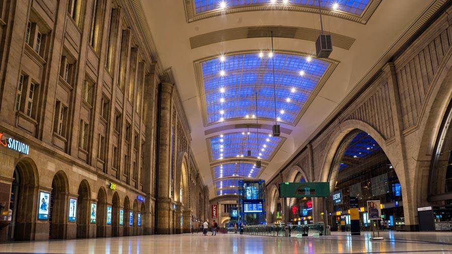Leipzig Sehenswürdigkeiten: Hauptbahnhof, Bahnhof
