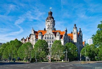 Leipzig Sehenswürdigkeiten: Neues Rathaus, Turm