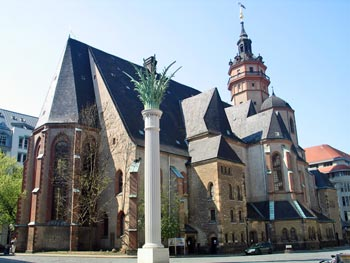 Leipzig Sehenswürdigkeiten: Nikolaikirche, Hauptkirche