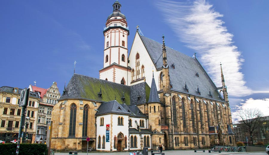 Leipzig Sehenswürdigkeiten: Thomaskirche, Johann Sebastian Bach