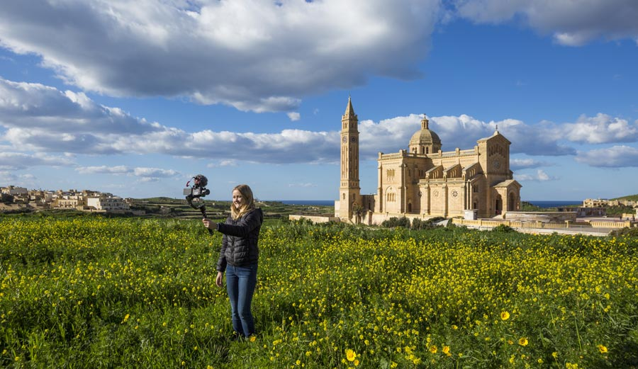 Malta Sehenswürdigkeiten: Gozo, Kathedrale Ta' Pinu