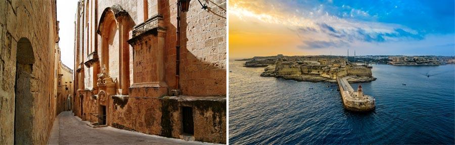 Malta Sehenswürdigkeiten: Valletta