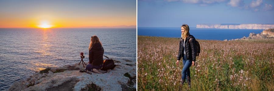 Malta Sehenswürdigkeiten: Dingli Steilküste