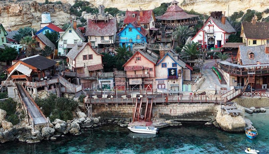 Malta Sehenswürdigkeiten: Popeye Village