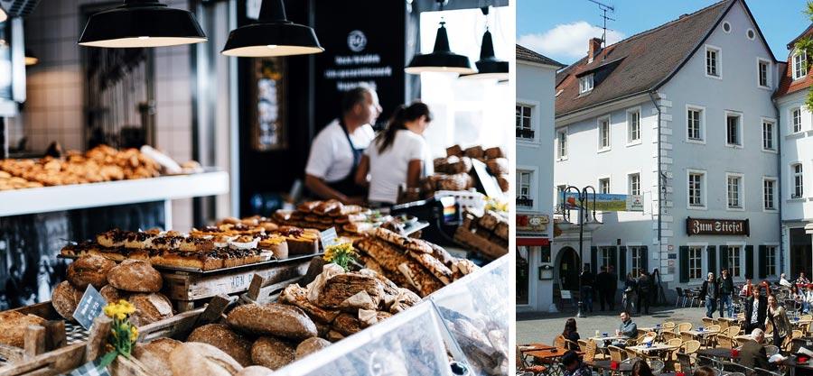 Nachhaltig reisen Saarland: Restaurant St. Johanner Markt, Bio