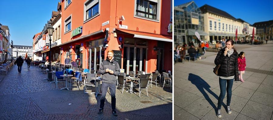 Saarland: Saarlouis, Innenstadt, Altstadt