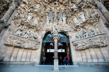 Schönste Städte Europas: Barcelona, Sagrada Familia