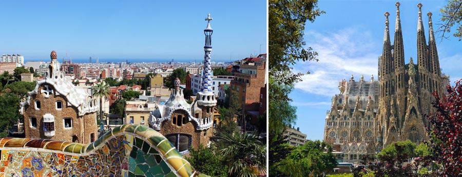 Schönste Städte Europas: Barcelona, Spanien