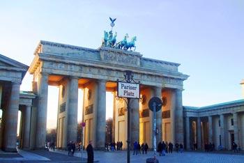 Schönste Städte Europas: Berlin, Brandenburger Tor