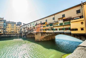 Schönste Städte Europas: Florenz, Vaccio Brücke