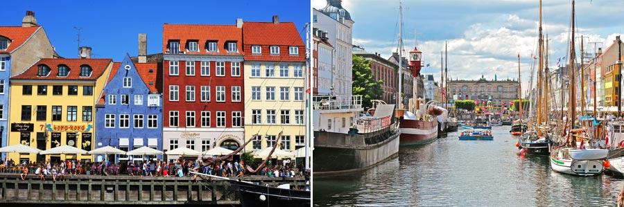 Schönste Städte Europas: Kopenhagen, Dänemark