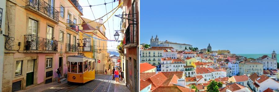 Schönste Städte Europas: Lissabon, Portugal