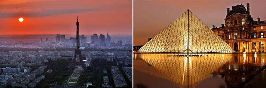 Schönste Städte Europas: Paris, Frankreich