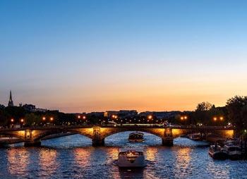 Schönste Städte Europas: Paris, Fluss Seine