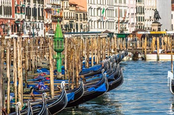 Schönste Städte Europas: Venedig, Gondel