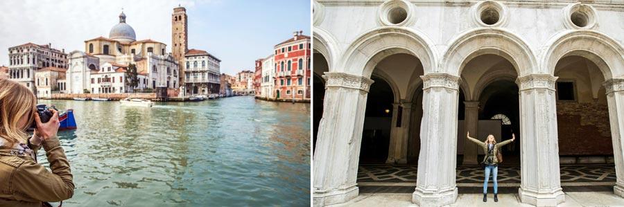 Schönste Städte Europas: Venedig, Italien
