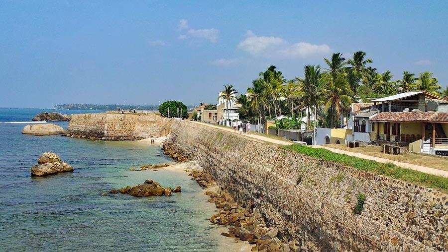 Sri Lanka Rundreise: Galle, Reise