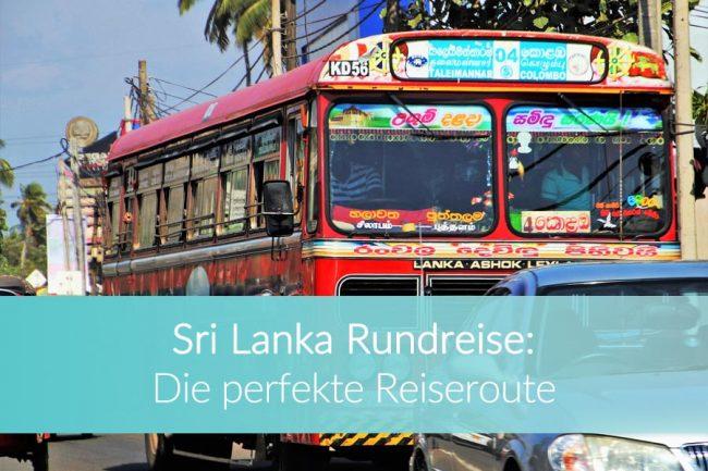 Sri Lanka Rundreise: Weltreise Blog