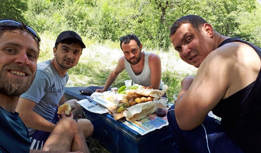 Trampen: Reise, Armenien