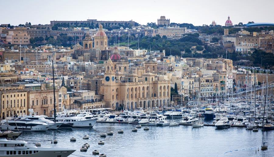 Valletta Sehenswürdigkeiten: Barakka, Großhafen