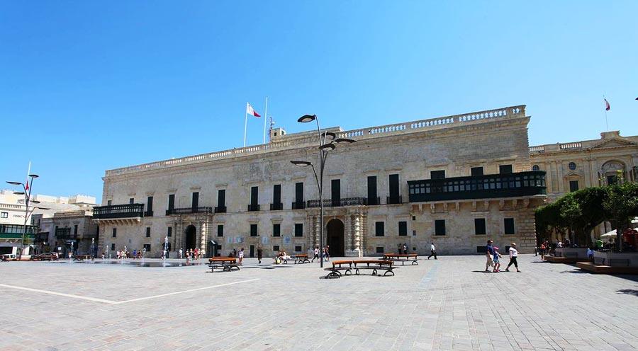 Valletta Sehenswürdigkeiten: Großmeisterpalast