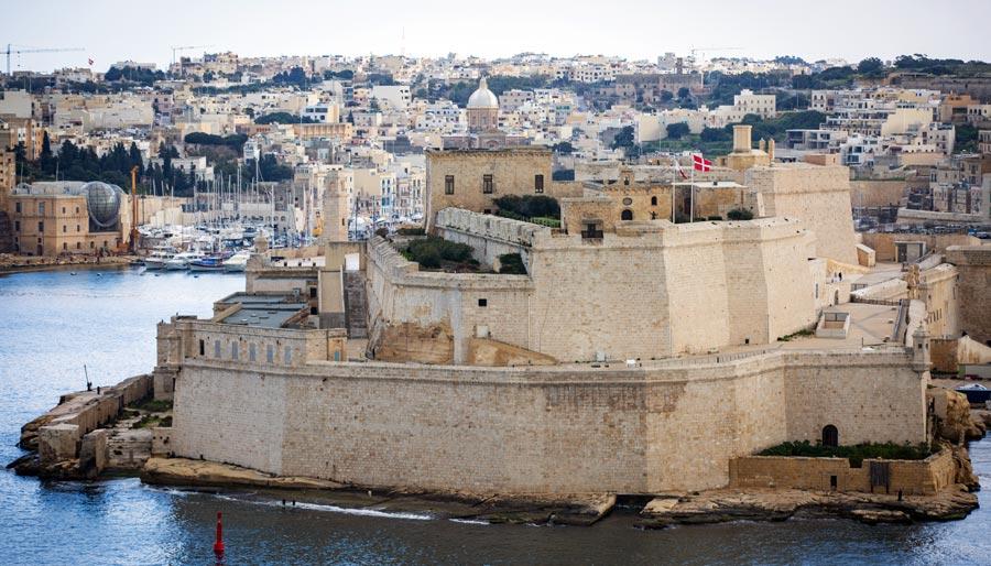 Valletta Sehenswürdigkeiten: St. Elmo Festung
