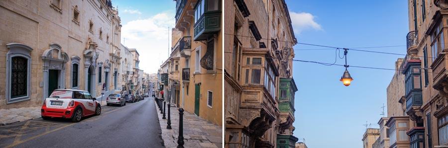Valletta Sehenswürdigkeiten: Stadt, Straße