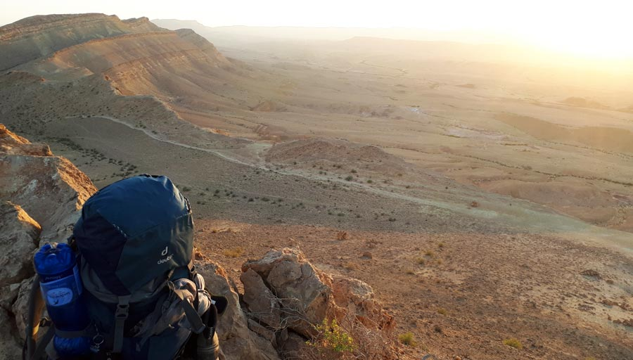Israel Backpacking: Rucksack, Reisen