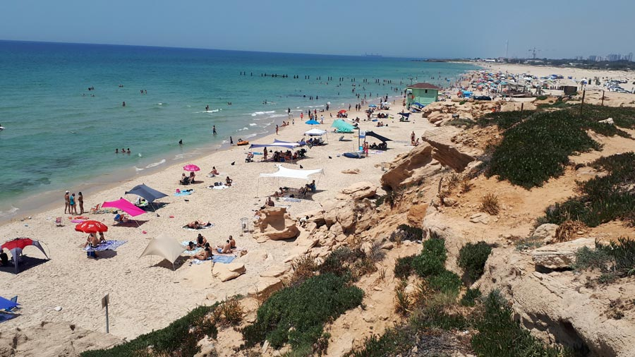 Israel Backpacking: Strand, Tourismus