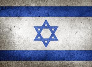 Israel Flagge, Land